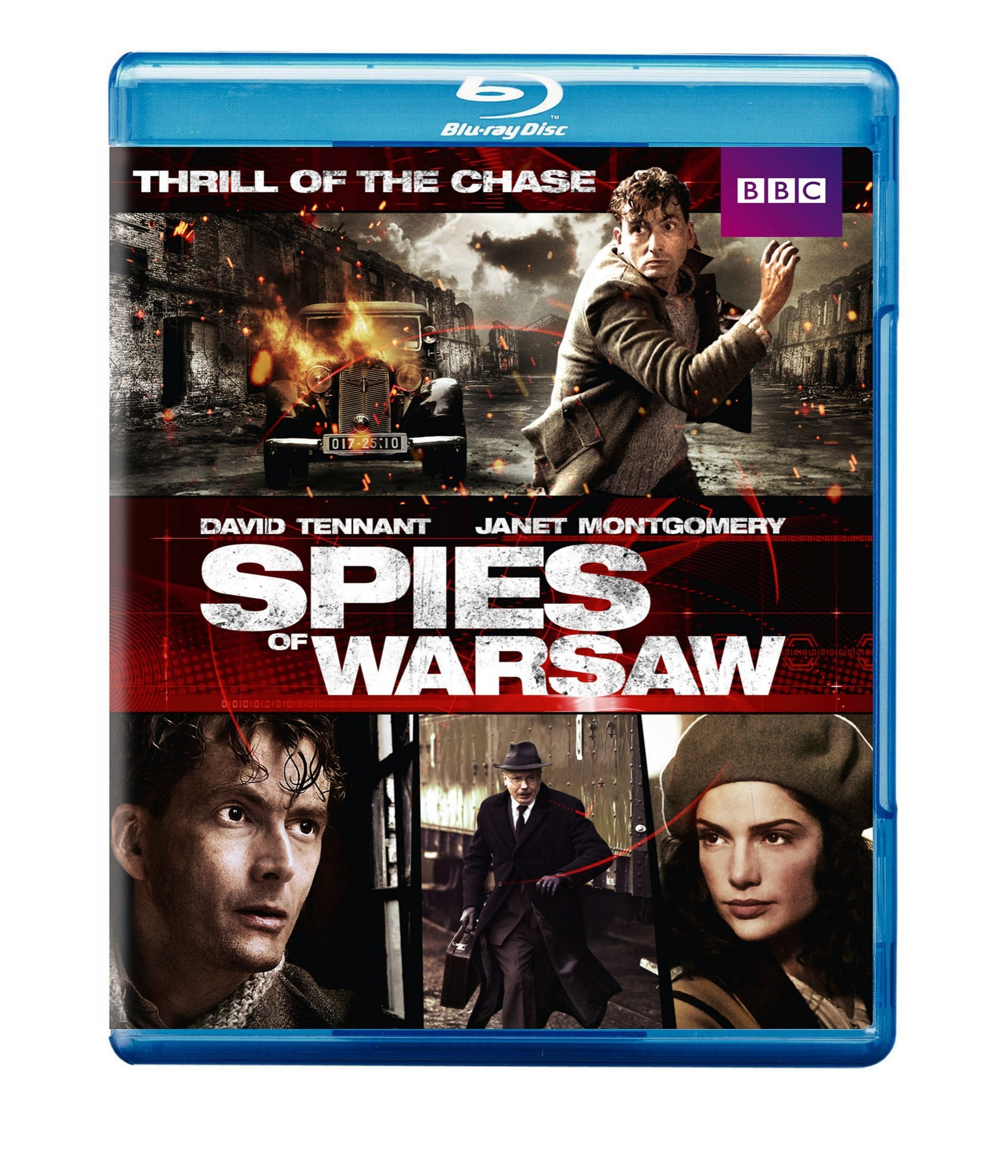 Blu-ray : Spies of Warsaw (2012) (Widescreen, Eco Amaray Case, )