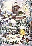"""Adventskalender """"Weihnachten bei der Burg"""": Papier-Adventskalender"""
