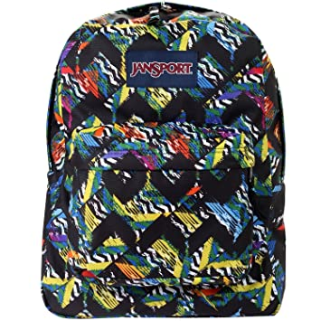 Amazon.com: Jansport Mens Superbreak Backpack, Black, One Size ...
