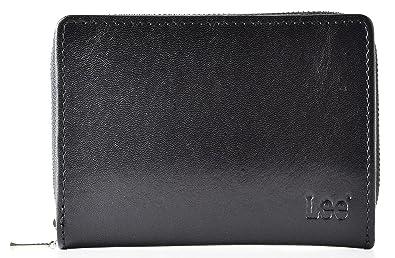 8194cf1d4f6a9f Amazon | [リー] 二つ折り財布 メンズ 0520266 ブラック | 財布
