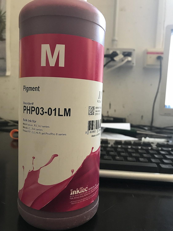 Inktec Tinta PIGMENTADA para plóters Mutoh, Roland, Epson y Mimaki. Magenta. Bolsa DE L: Amazon.es: Electrónica