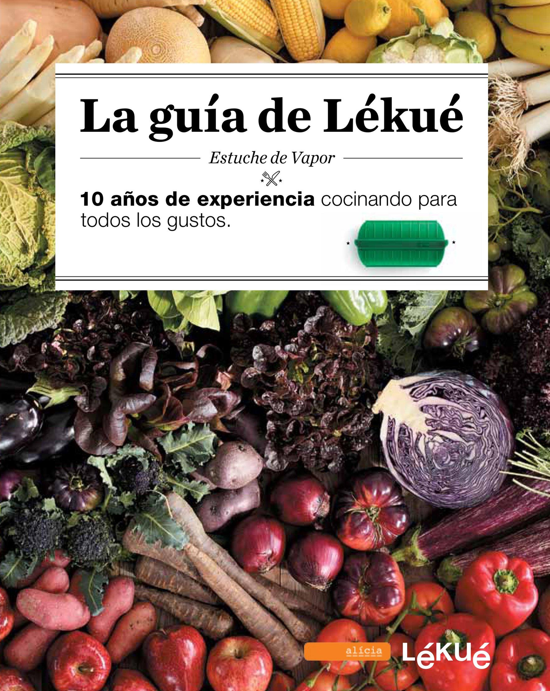 Lékué Libro LA GUIA ESP, Negro, Único: Amazon.es: Lékué y Fundación Alicia, Lékué y Fundación Alicia: Libros