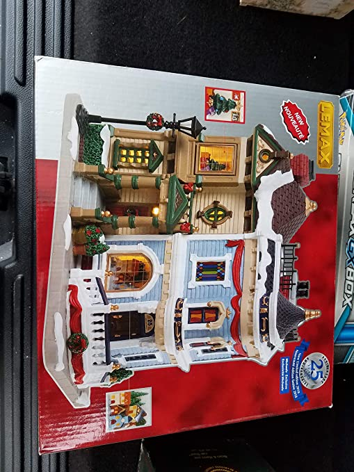 Lemax Christmas Village Michaels.Amazon Com Lemax Christmas In The City Michael S Exclusive