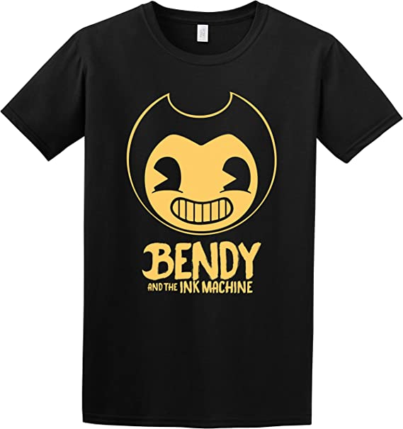 Bendy and The Ink Machine Animation Horror Game Inspired Kids and Adult T-Shirt