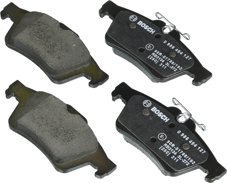 Rear Chevrolet Jaguar Plas XF XJ8 XJR Disc Brake Pad Set Bosch QuietCast BP1095