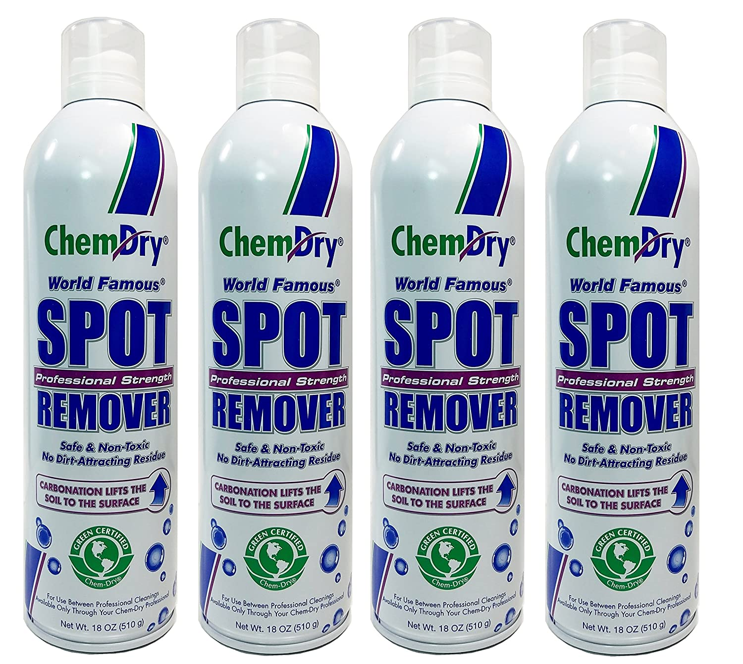Chem-Dry Professional Strength Spot Remover 18oz (4 Pack)