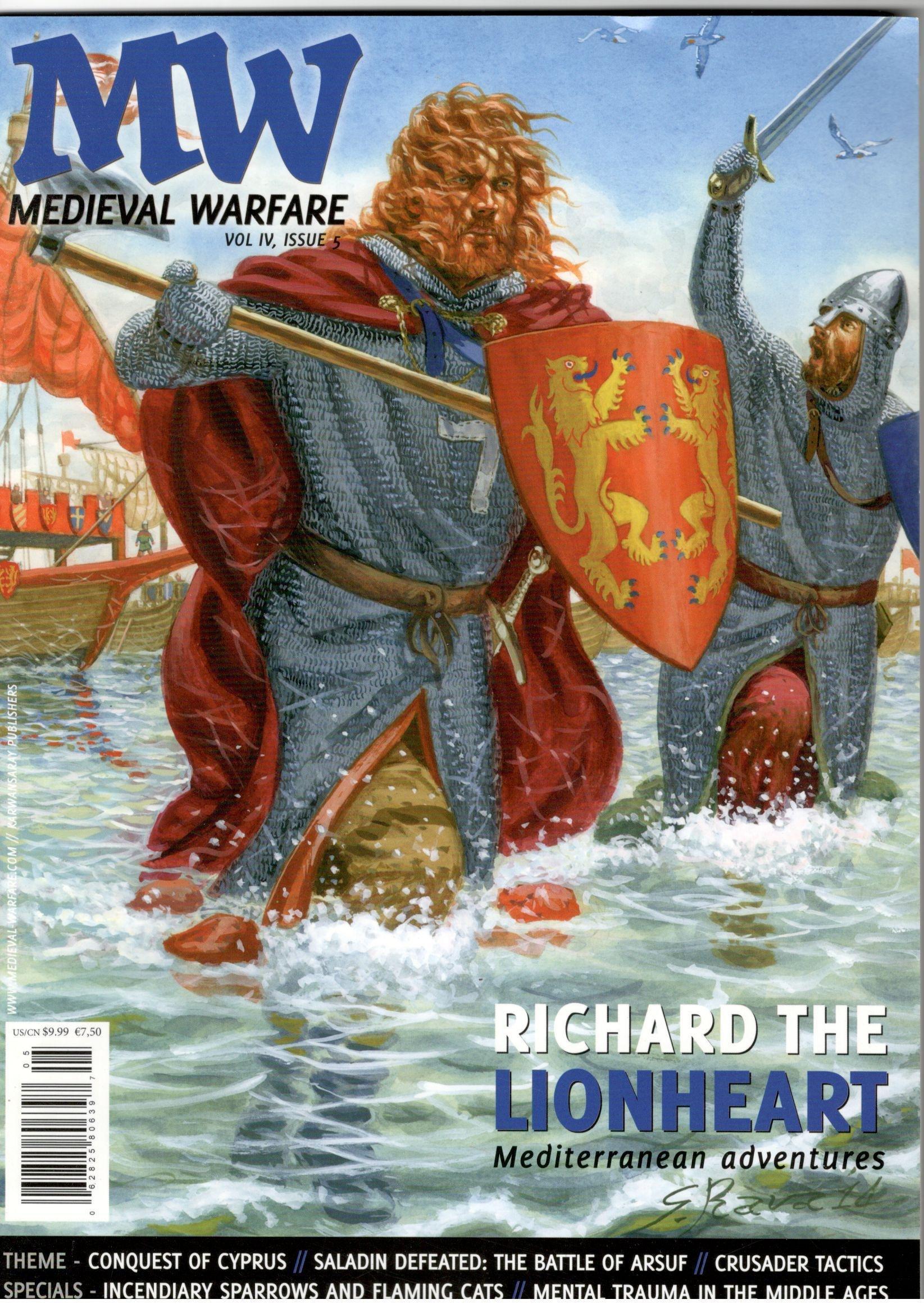 Medieval Warfare Magazine (Volume 6 # 5,Richard the Lionheart) ebook