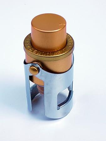 Corretto Storage Ch&agne Stopper - Premium Rose Gold Sparkling Wine and Prosecco Bottle Cork with Sealing & Amazon.com: Corretto Storage Champagne Stopper - Premium Rose Gold ...