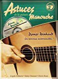 Roux Astuces De La Guitare Manouche Volume 2 Django Reinhardt Book/Cd