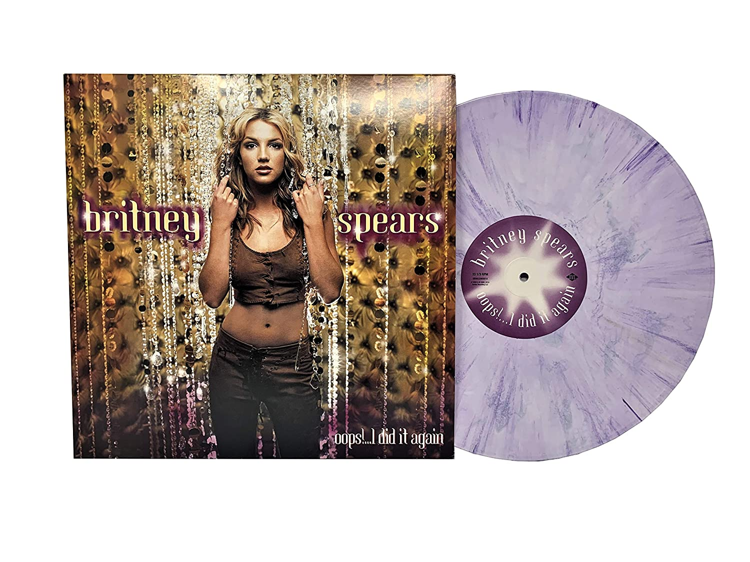 Britney Spears Oops I Did It Again Limited Edition Purple Swirl Colored Vinyl Amazon Com Music