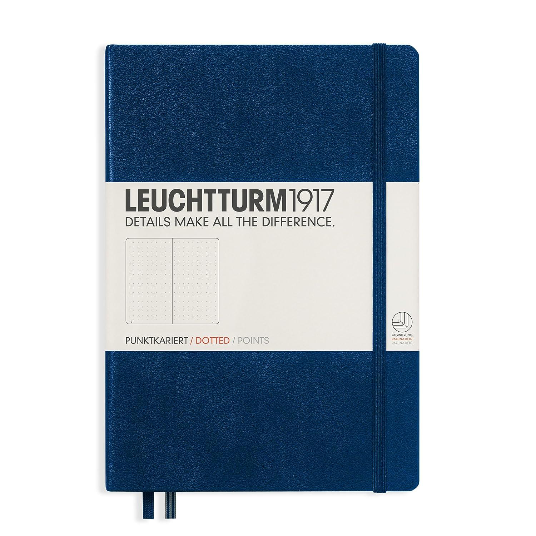 Leuchtturm1917 Notebook A5 Medium Dotted Hardcover Army / Green 348103