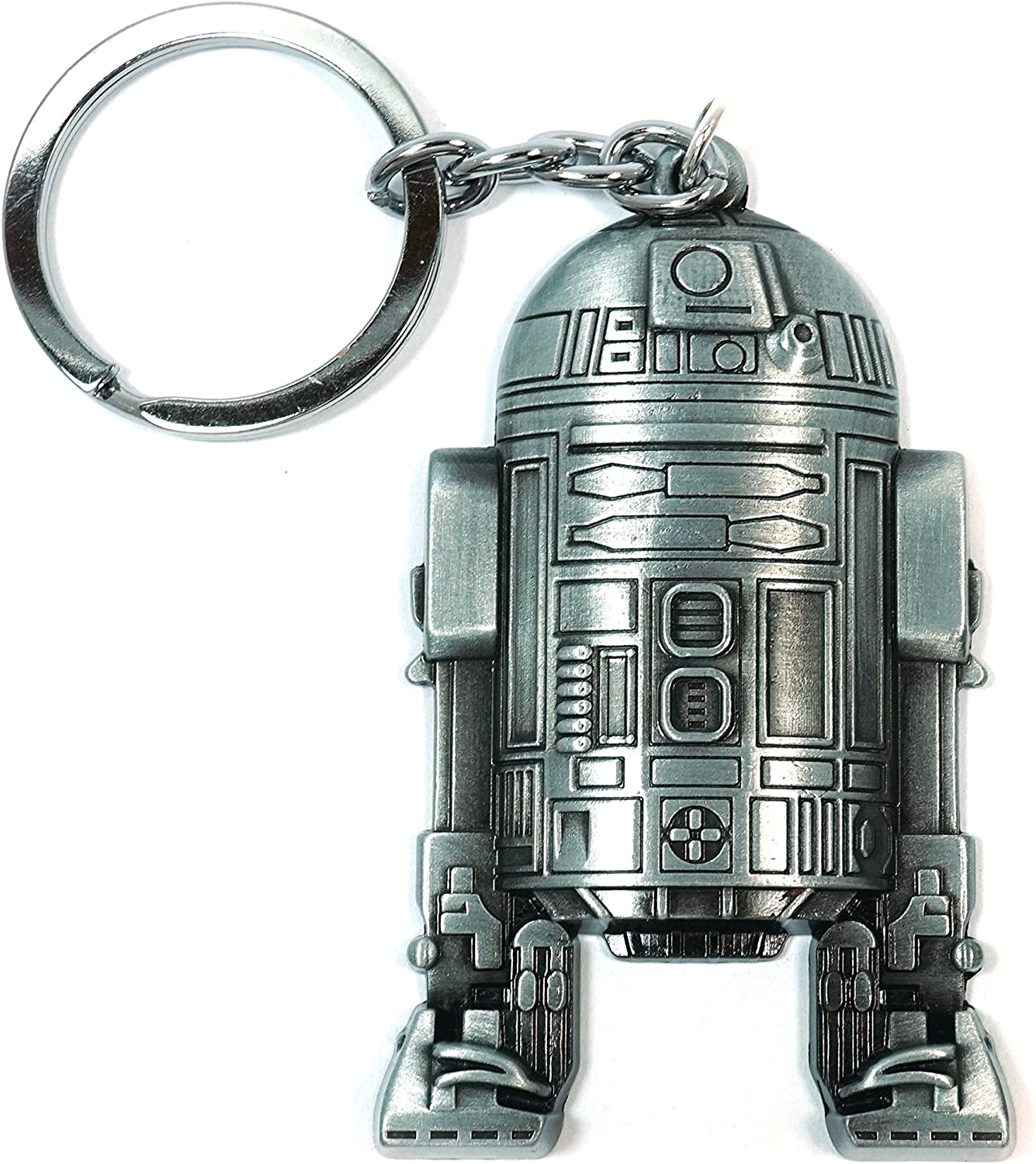 Teris Boutique R2D2 Star Wars Metal Alloy Movie Men Beer Opener Keychain