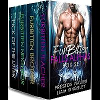 Furbitten Falls Alpha's: A Wolf Shifter Mpreg Romance Bundle (English Edition)