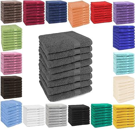 Betz Set di 8 asciugamani di spugna Premium 8 asciugamani 50 x 100 cm 100% 3a5c4947da83