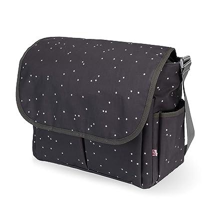 Bolso bandolera para silla de paseo bebé (gris)