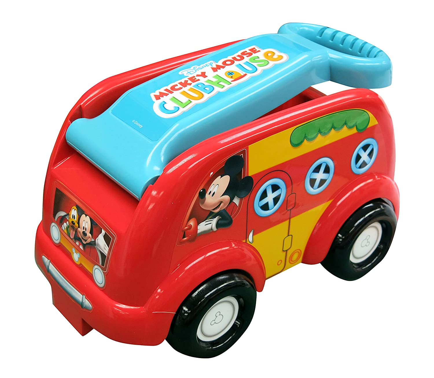 Mickey Mouse Club House Camping Fun Roll N Go Wagon Ride On