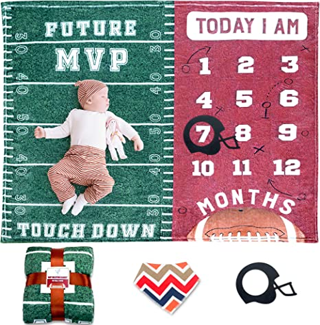 Football Baby Quilt