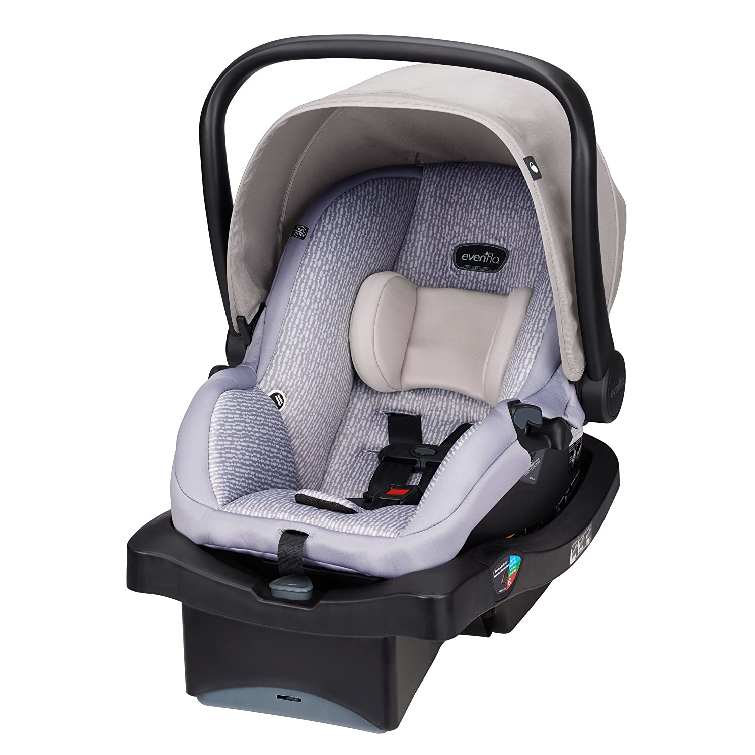 Amazon.com : Evenflo LiteMax 35 Infant Car Seat, Riverstone : Baby