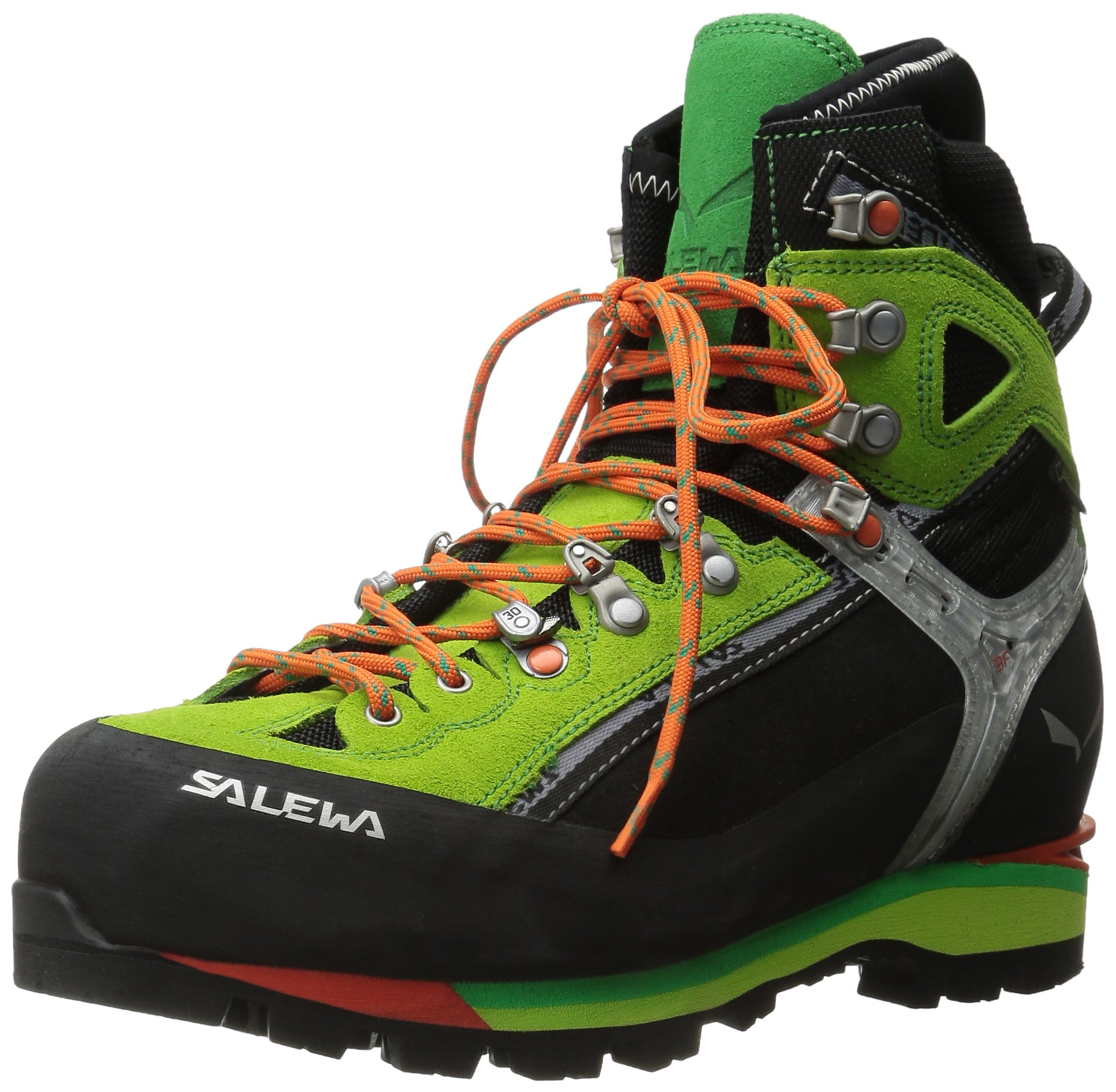 Salewa Men's MS Condor EVO GTX M Mountaineering Boot, Black/Cactus, 11 M US by Salewa