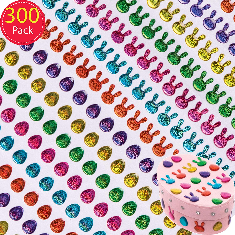 Pack de 120 Baker Ross Pegatinas de Espuma de Semana Santa Manualidades y Decoraciones Infantiles Creativas