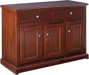 "Eagle Furniture Manufacturing Coastal Dining Buffet & Hutch, 48"", Concord Cherry"