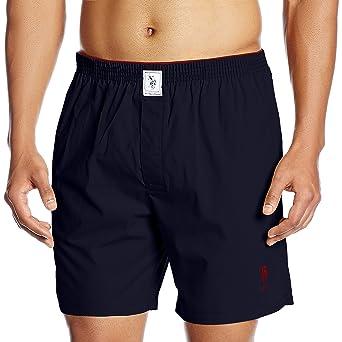 US Polo Association Men's Cotton Boxer Men's Boxer Shorts at amazon