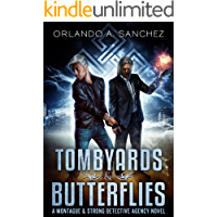 Tombyards & Butterflies: A Montague and Strong Detective Novel (Montague & Strong Case Files Book 1) book cover