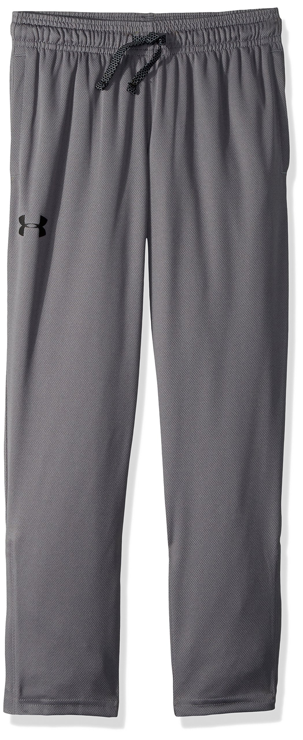 Under Armour Boys' Tech Pants Graphite (041)/Black Youth Small