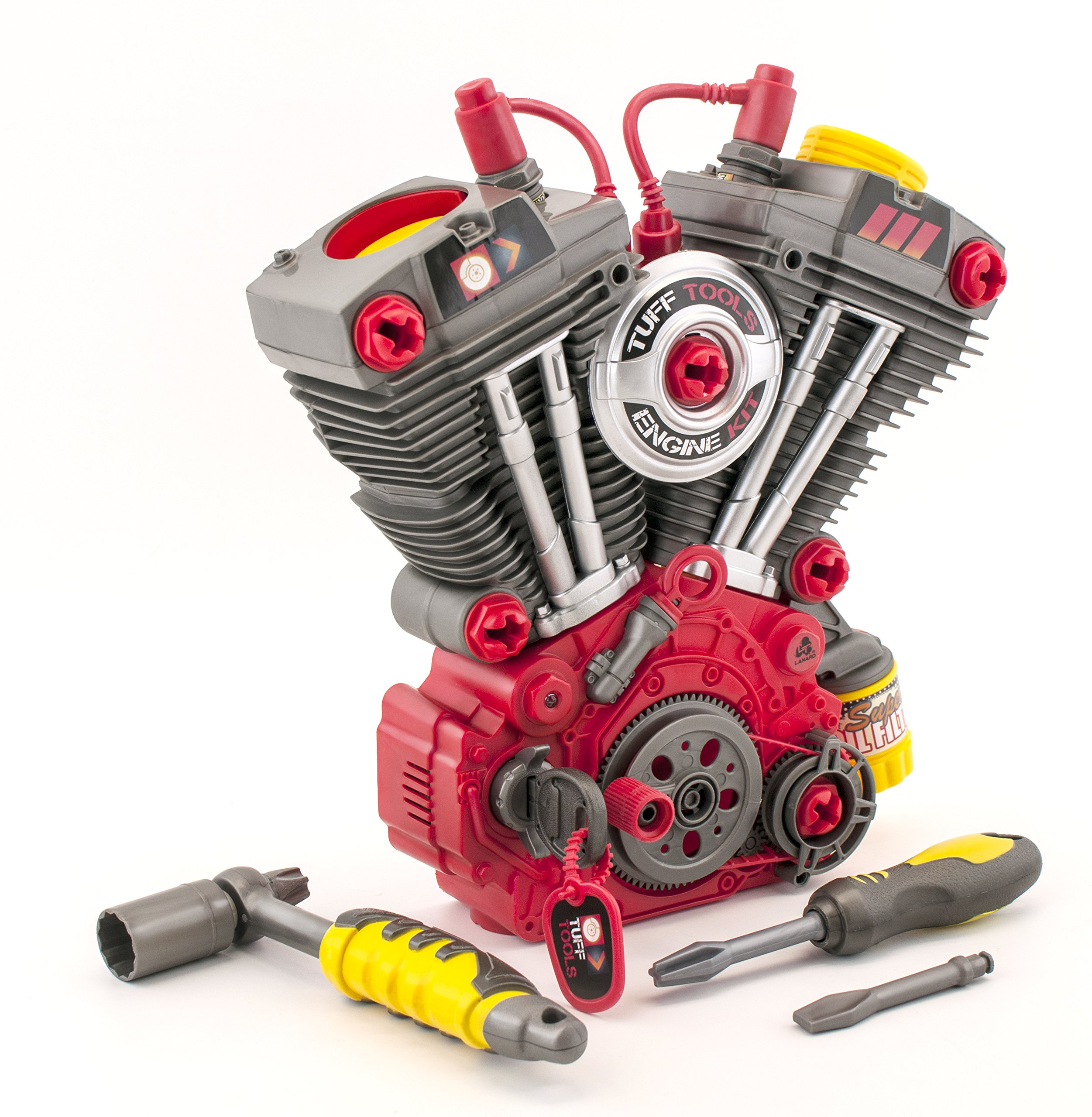Lanard Light and Sound Engine Builder Set Toy