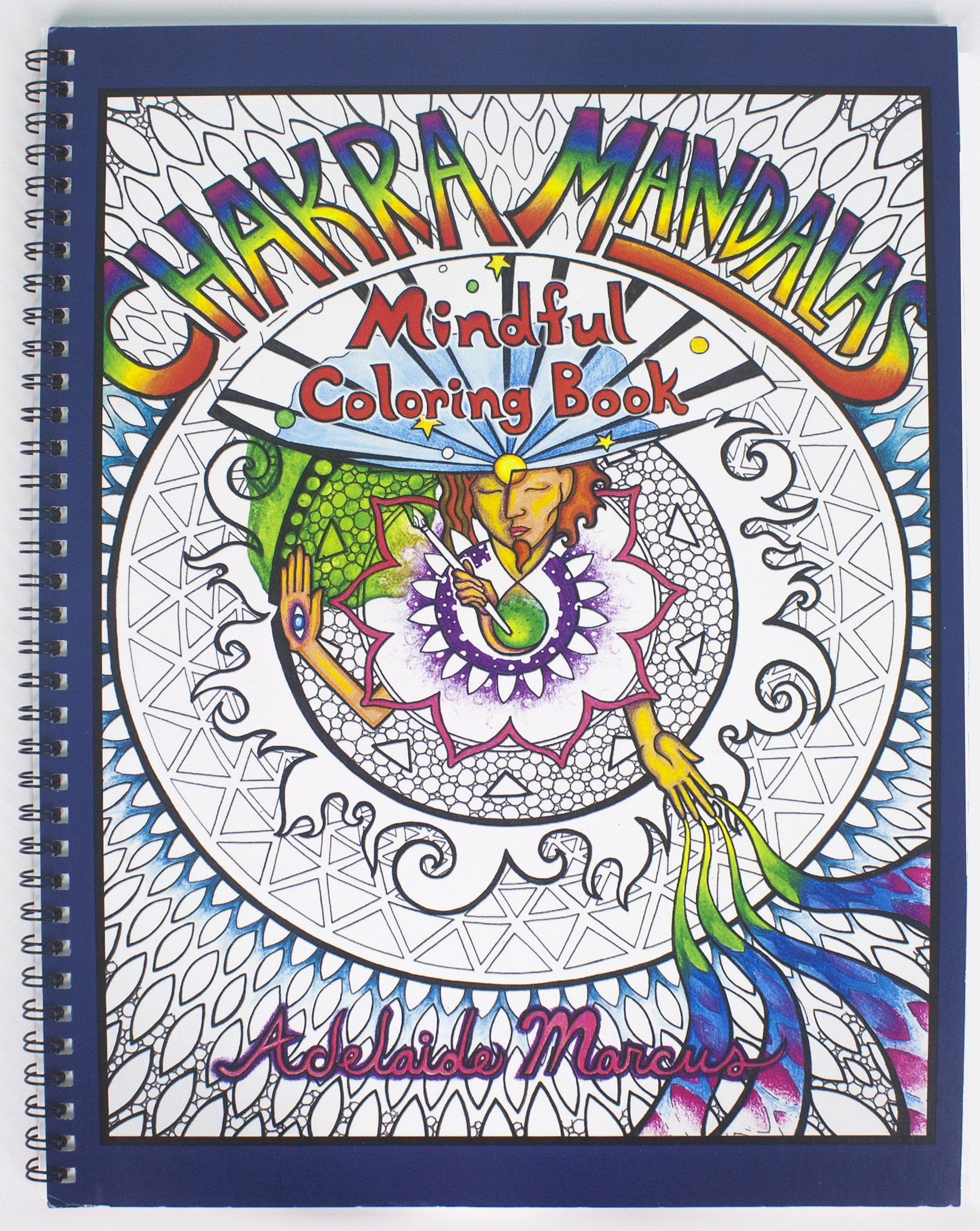 Chakra Mandalas: Best Adult Coloring Book for Mindful Meditation and Stress Relief. Color and Relax!