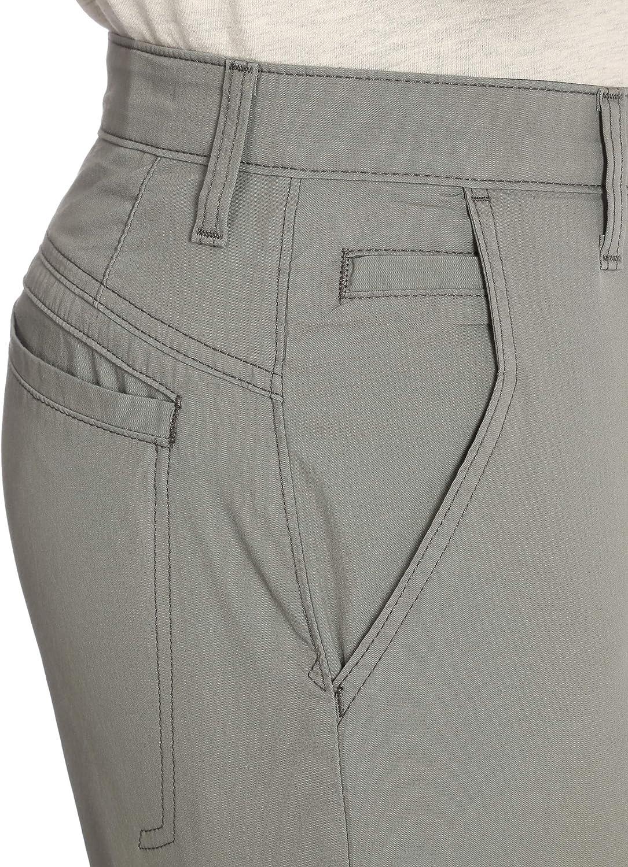 Wrangler Authentics Men's Performance Comfort Waist Flex Flat Front Short at  Men's Clothing store