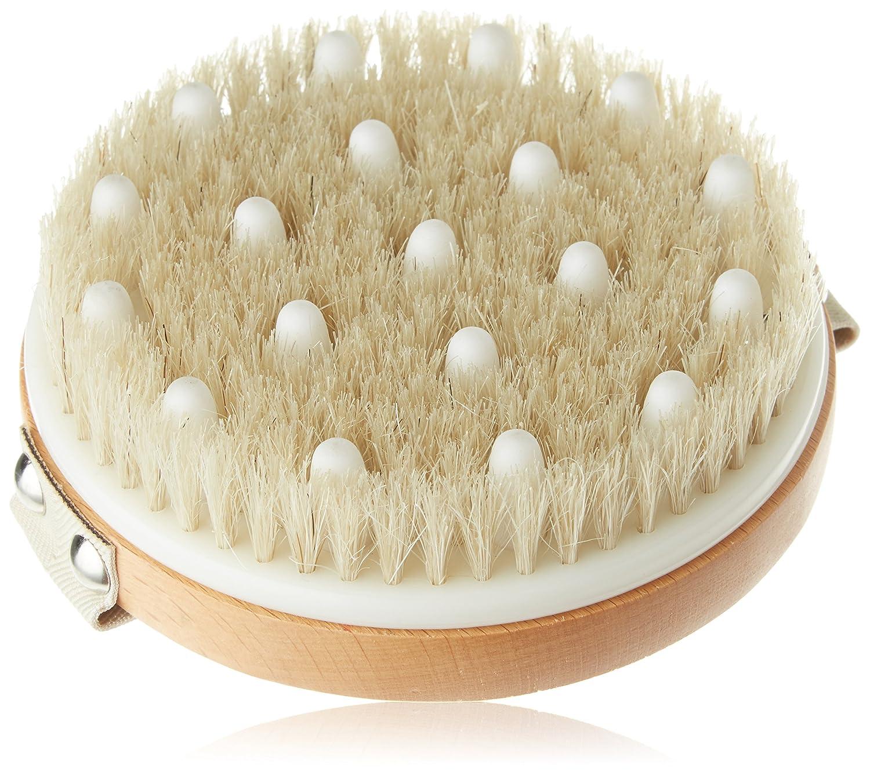 Hydrea London lymphfluss Detox Bürste mit Naturborsten und Gummi Noppen Natural Sea Sponge HYD70