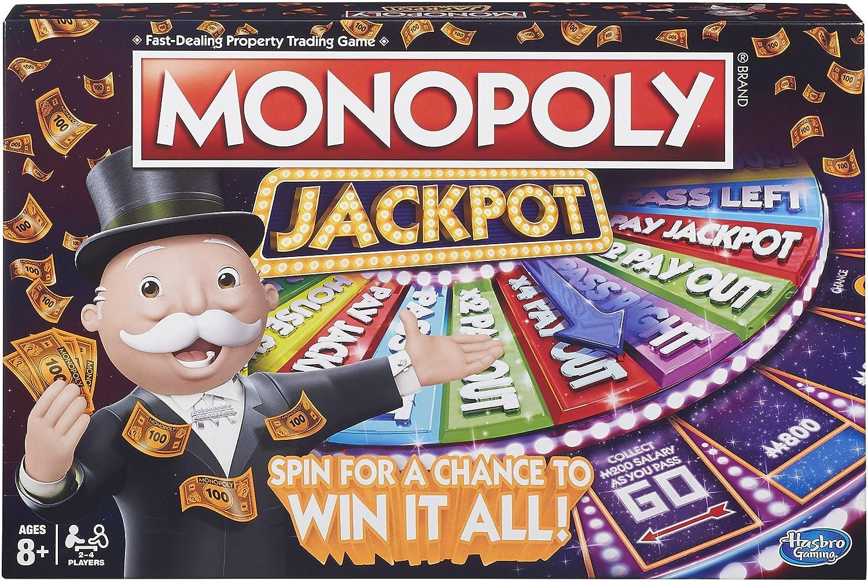 Hasbro Monopoly Jackpot Board Game: Amazon.es: Juguetes y juegos