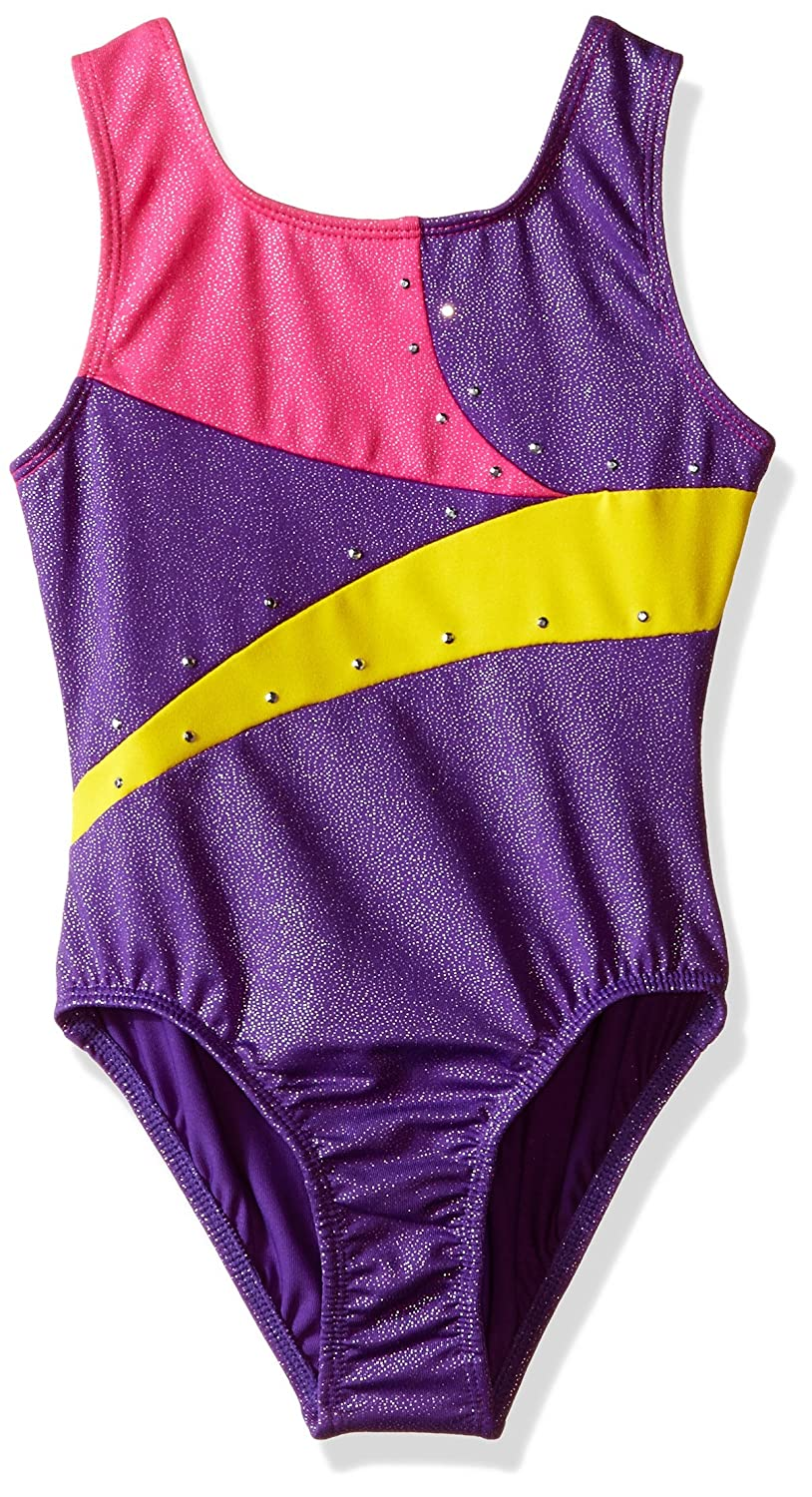 a8402a1256a7 Amazon.com  Jacques Moret Girls  Gymnastics Printed Leotard  Clothing