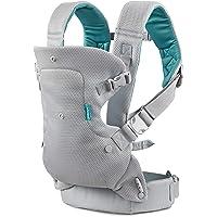 Infantino Flip Light & Airy 4-i-1 bärsele – ergonomisk bärsele med 4 bärpositioner – för spädbarn och småbarn från 3,6…