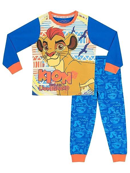Disney Pijama para Niños La Garde du Roi Lion Azul 18-24 Meses