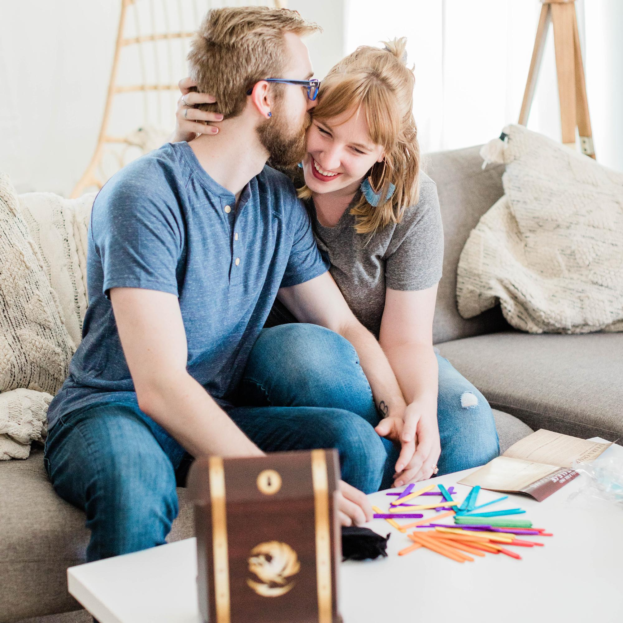 Crated with Love - Monthly Date Night Subscription Box: Month to Month