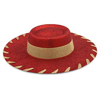 6340e3289a5aa Image Unavailable. Image not available for. Color  Disney Jessie Costume Hat  for Kids - Toy Story Multi