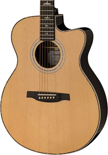 PRS Paul Reed Smith Guitarra acústica/eléctrica, natural: Amazon ...