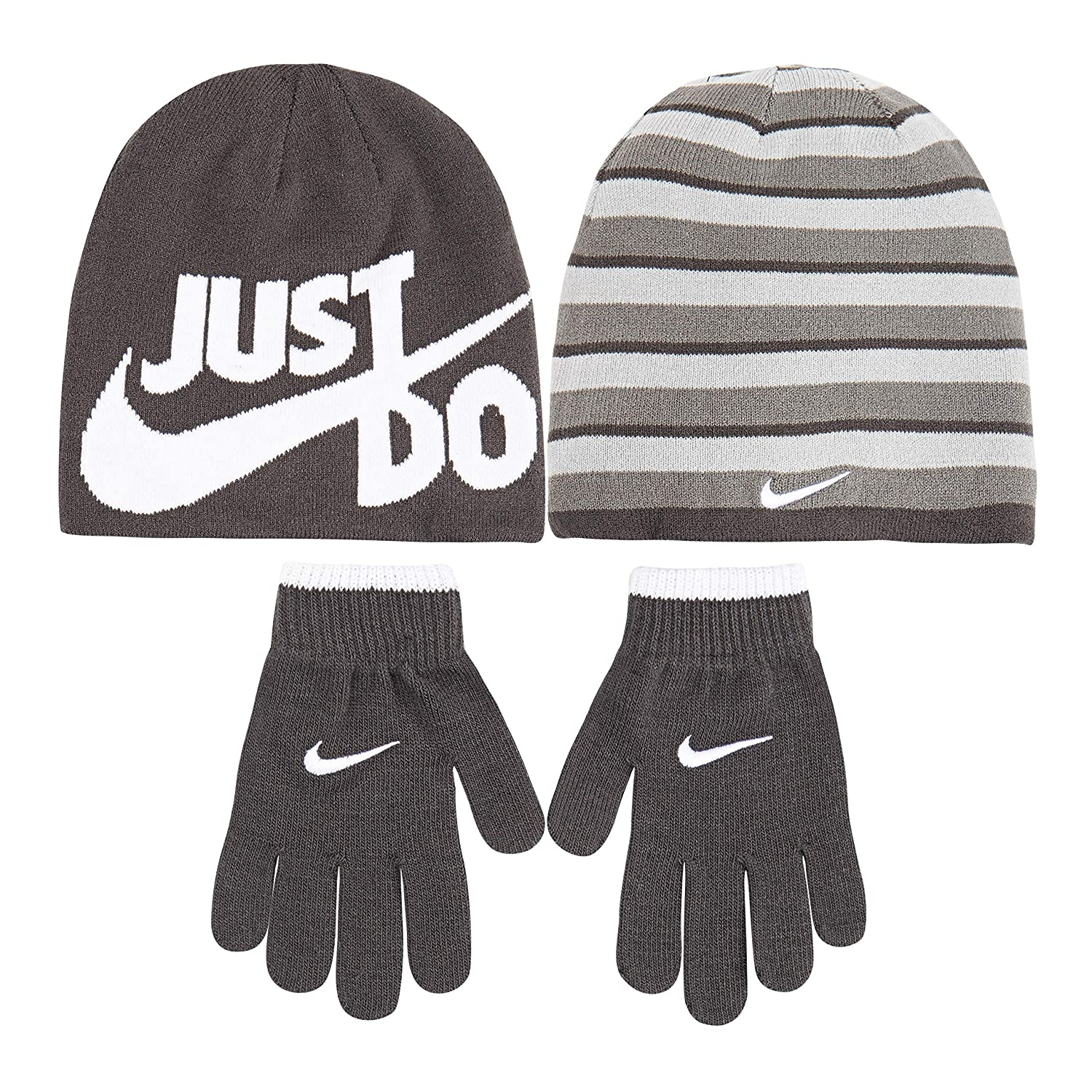 99607cb21 Amazon.com: NIKE Children's Apparel Kids' Little Beanie and Glove ...