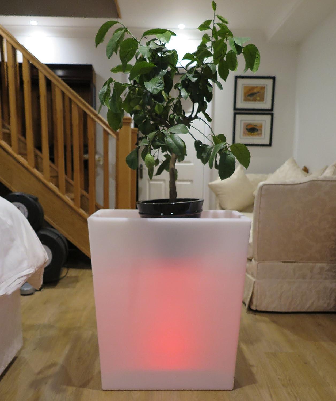 Schnurlose, rechargeabe 70 cm LED Blumentopf, quadratisch ...
