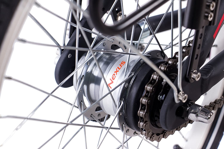 20 pulgadas bicicleta plegable para bicicleta plegable aluminio bicicleta CHRISSON foldrider 3.0 con 7 velocidades Shimano Nexus Negro: Amazon.es: Deportes ...