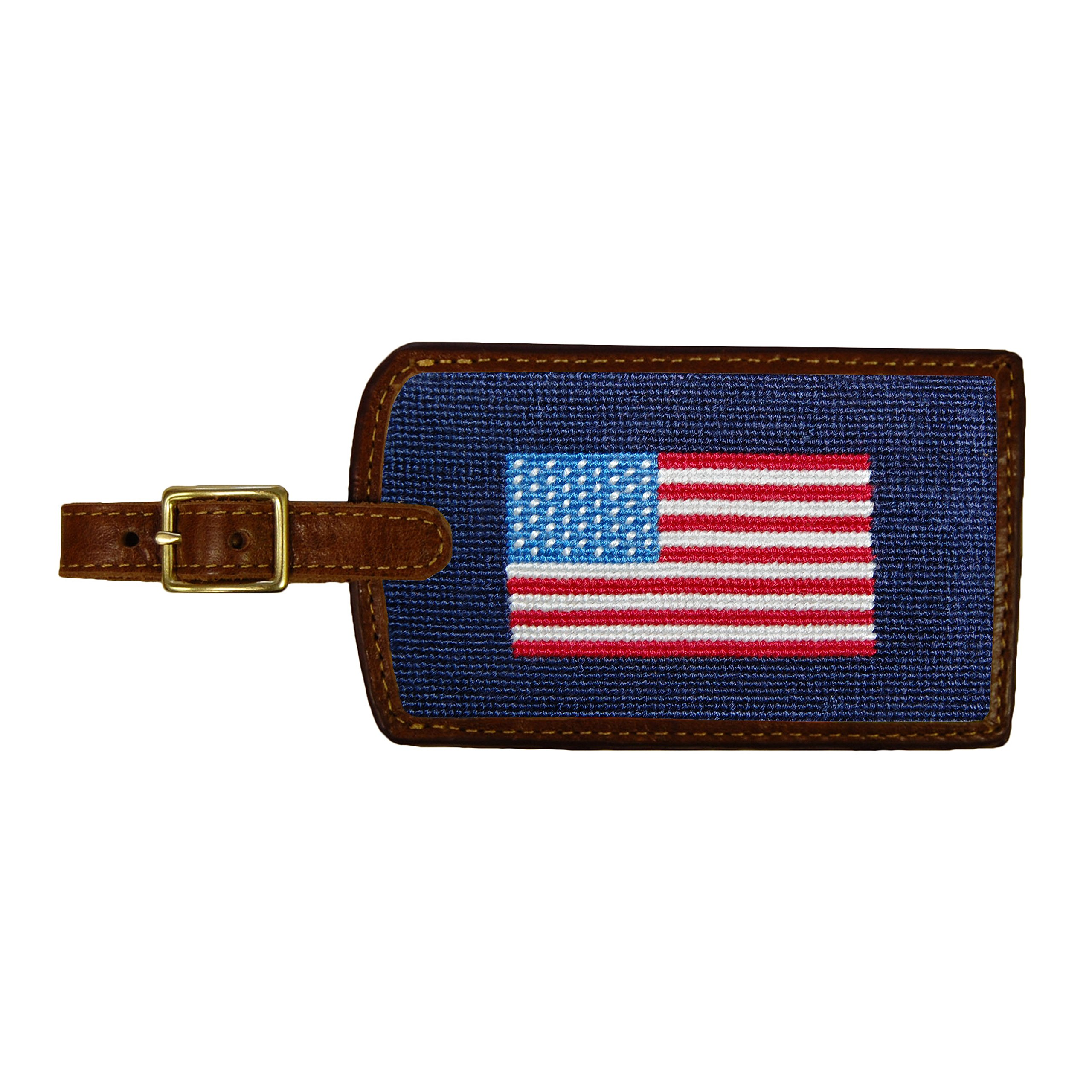 Smathers & Branson Luggage Tag American Flag/Dark Navy by Smathers & Branson