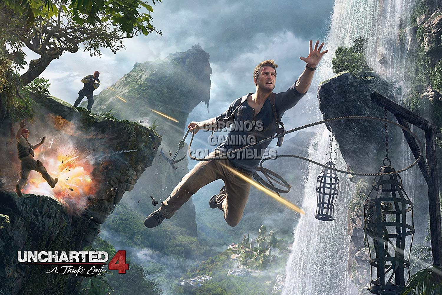 Amazon Com Primeposter Uncharted 4 Poster Glossy Finish Made In
