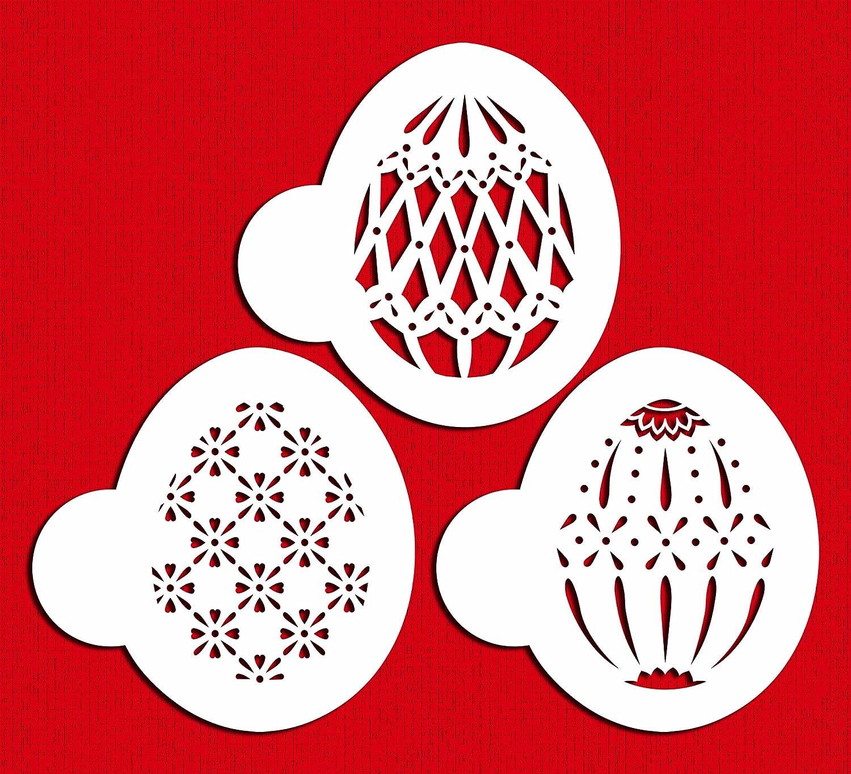 Amazon Com Designer Stencils C865 Faberge Easter Egg Stencils