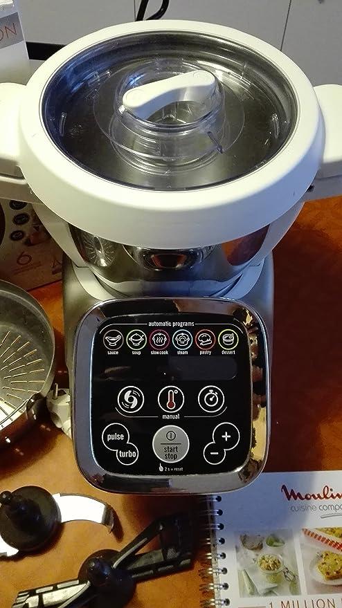 Moulinex HF800A10 Cuisine Companion - Robot de cocina: Amazon.es ...