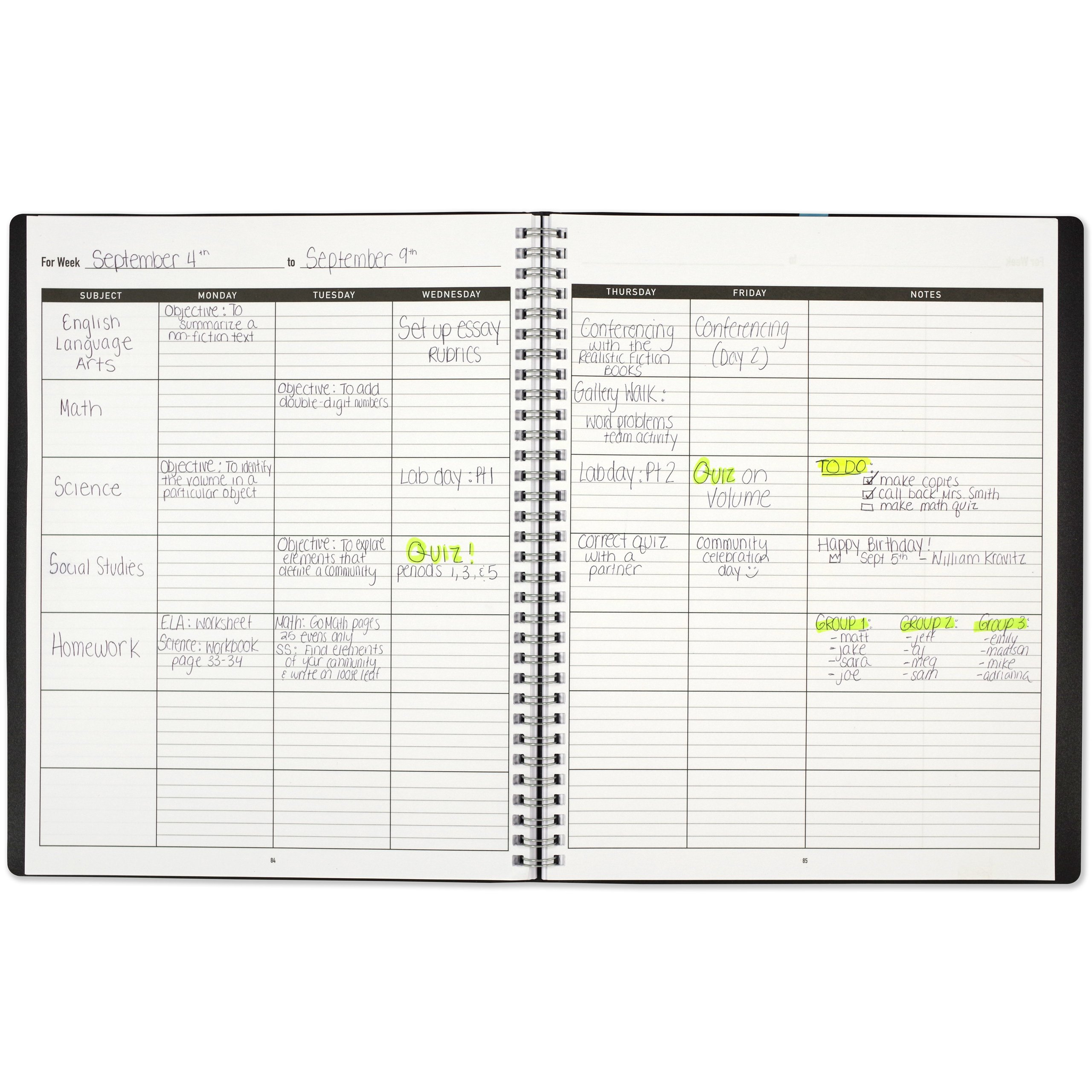 Teachers Planner Lesson Planner Peter Pauper Press