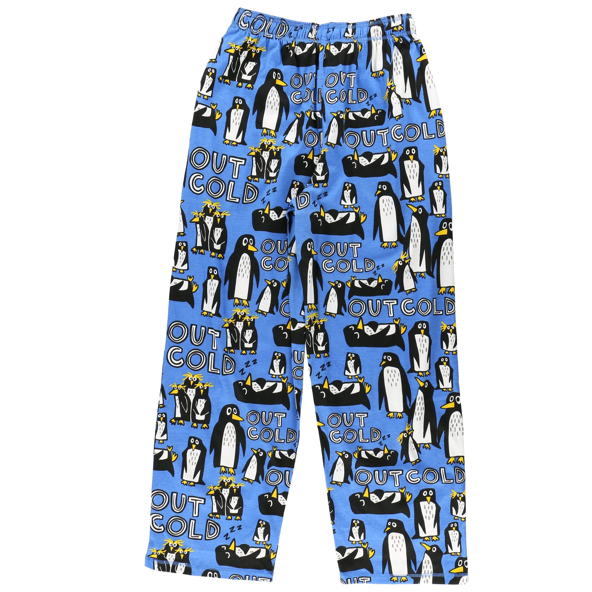 Out Cold Men's Pajama Pants Bottom by LazyOne | Pajama Bottom for Men (Large) by Lazy One (Image #2)