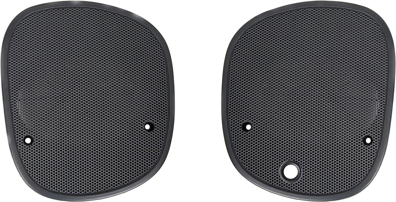 ECOTRIC New Driver/&Passenger Graphite Dash Speaker Cover Grille Grill Left/&Right for 98-05 GMC Jimmy Sonoma Chevrolet S10 Blazer Bravada