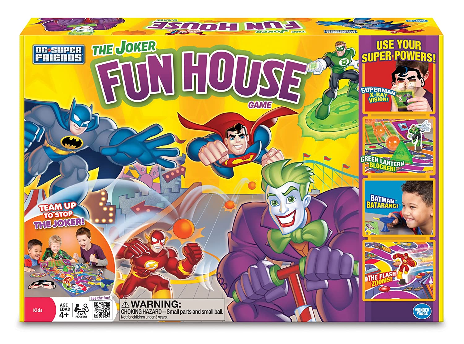 Super Friends Joker's Fun House Game by Wonder Forge